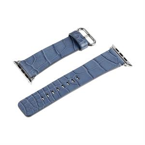 Hadoro Alligator Bracelet Steal Blue Jean