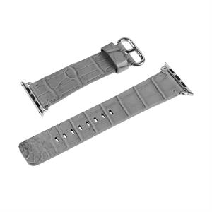 Hadoro Alligator Bracelet Steal Grey